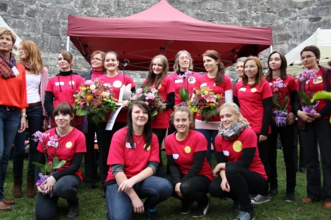 Teilnehmerinnen Coburger Rose 2013